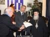 14تقطيع كعكة الفاسيلوبيتا في مقر الجالية اليونانية في القدس