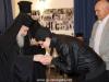 16تقطيع كعكة الفاسيلوبيتا في مقر الجالية اليونانية في القدس