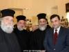 24تقطيع كعكة الفاسيلوبيتا في مقر الجالية اليونانية في القدس