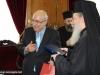 03رئيس البرلمان القبرصي في البطريركية ألاورشليمية