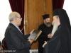 04رئيس البرلمان القبرصي في البطريركية ألاورشليمية