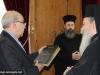 05رئيس البرلمان القبرصي في البطريركية ألاورشليمية