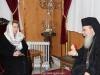 06زوجة رئيس وزراء روسيا ديميتري ميدفيديف تزور البطريركية