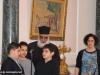 IMG_0005أولاد مدرسة ألاحد في الناصرة وأبناء الطائفة ألاورثوذكسية في الرينة يزورون البطريركية