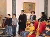 IMG_0008أولاد مدرسة ألاحد في الناصرة وأبناء الطائفة ألاورثوذكسية في الرينة يزورون البطريركية