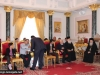IMG_0009أولاد مدرسة ألاحد في الناصرة وأبناء الطائفة ألاورثوذكسية في الرينة يزورون البطريركية