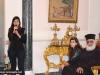 IMG_0034أولاد مدرسة ألاحد في الناصرة وأبناء الطائفة ألاورثوذكسية في الرينة يزورون البطريركية