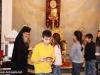 IMG_0036أولاد مدرسة ألاحد في الناصرة وأبناء الطائفة ألاورثوذكسية في الرينة يزورون البطريركية