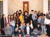 IMG_0041أولاد مدرسة ألاحد في الناصرة وأبناء الطائفة ألاورثوذكسية في الرينة يزورون البطريركية