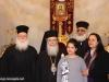 IMG_0047أولاد مدرسة ألاحد في الناصرة وأبناء الطائفة ألاورثوذكسية في الرينة يزورون البطريركية