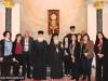IMG_0050أولاد مدرسة ألاحد في الناصرة وأبناء الطائفة ألاورثوذكسية في الرينة يزورون البطريركية