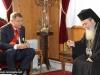 08رئيس الجمهورية الرومانية يزور البطريركية ألاورشليمية