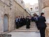 12رئيس الجمهورية الرومانية يزور البطريركية ألاورشليمية