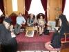 03محاضرو جامعة البوليتخنيون يزورون البطريركية