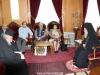 04محاضرو جامعة البوليتخنيون يزورون البطريركية