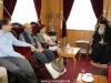 07محاضرو جامعة البوليتخنيون يزورون البطريركية