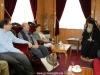 09محاضرو جامعة البوليتخنيون يزورون البطريركية