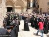 18ألاحتفال بأحد الشعانين في البطريركية ألاورشليمية