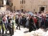 19ألاحتفال بأحد الشعانين في البطريركية ألاورشليمية