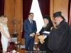 01وزير البيئة القبرصي يزور البطريركية