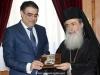 04وزير البيئة القبرصي يزور البطريركية