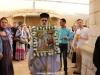 02ألاحتفال بعيد بشارة والدة ألاله في مدينة الناصرة