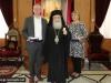 IMG_0824ممثلون عن المعهد السويدي في القدس يزورون البطريركية
