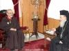 15غبطة البطريرك يُكرم الرئيس الروحي لأخوية الفرنسيسكان