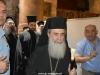 02 (1)مطارنة من الكنيسة اليونانية ألاورثوذكسية يطّلعون على مشروع إصلاح القبر المقدس