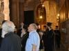 02-6مطارنة من الكنيسة اليونانية ألاورثوذكسية يطّلعون على مشروع إصلاح القبر المقدس