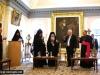 02رئيس دولة إسرائيل في زيارة الى البطريركية ألارمنية