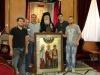 7أيقونة من جيورجيا في البطريركية