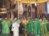 09ألاحتفال بعيد الروح القدس يوم إثنين العنصرة في الكنيسة الروسية في المدينة المقدسة أورشليم