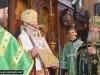 18ألاحتفال بعيد الروح القدس يوم إثنين العنصرة في الكنيسة الروسية في المدينة المقدسة أورشليم