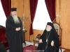 16زيارة متروبوليت كالاماريا للبطريركية الاورشليمية