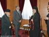 01السفير اليوناني في إسرائيل يزور البطريركية