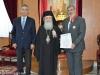 39السفير اليوناني في إسرائيل يزور البطريركية