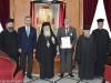 49السفير اليوناني في إسرائيل يزور البطريركية