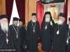 1-10مجموعة حجاج من مطرانية ايرابيديس من كنيسة كريت يزورون البطريركية