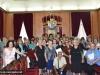 1-12مجموعة حجاج من مطرانية ايرابيديس من كنيسة كريت يزورون البطريركية