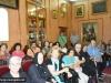 1-3مجموعة حجاج من مطرانية ايرابيديس من كنيسة كريت يزورون البطريركية