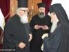 1-8مجموعة حجاج من مطرانية ايرابيديس من كنيسة كريت يزورون البطريركية