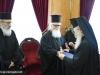 1-9مجموعة حجاج من مطرانية ايرابيديس من كنيسة كريت يزورون البطريركية