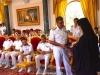05ضباط سلاح البحرية اليونانية يزورون البطريركية