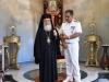 07ضباط سلاح البحرية اليونانية يزورون البطريركية