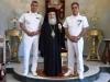 08ضباط سلاح البحرية اليونانية يزورون البطريركية