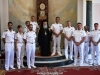 09ضباط سلاح البحرية اليونانية يزورون البطريركية