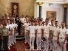10ضباط سلاح البحرية اليونانية يزورون البطريركية