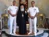 12ضباط سلاح البحرية اليونانية يزورون البطريركية