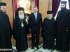 02ألسفير اليوناني الجديد في إسرائيل يزور البطريركية ألاورشليمية